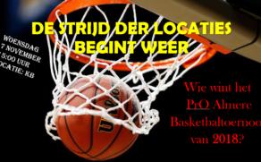 "Basketbaltoernooi ""De Strijd der locaties"""